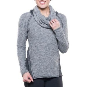 Kuhl Nova Cowl Neck Fleece Pullover Sweater Small
